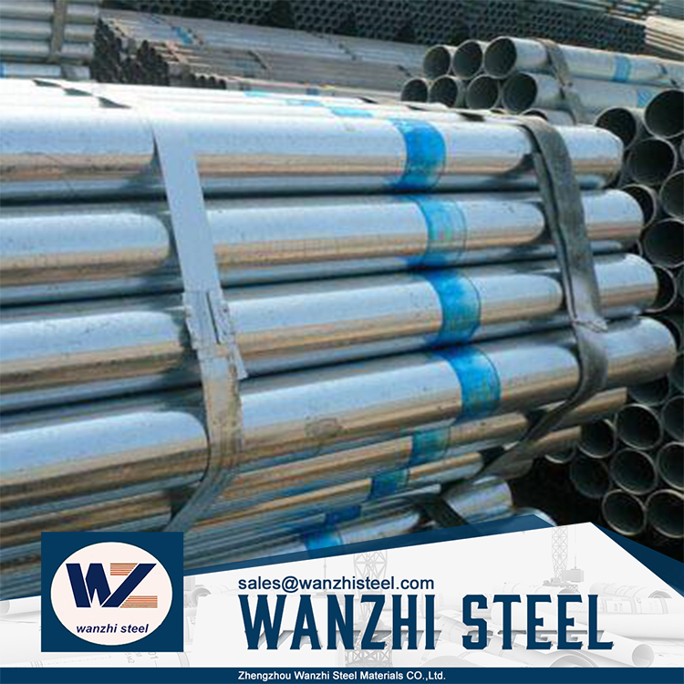 Business industrial Carbon erw Steel Pipe price size For Building Material