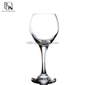 Germany White Wine Glasses Clear Stem Goblet WineGlass