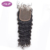 Large stock best quality factory directly malaysian human hair water wave 4*4 lace closure without chemical