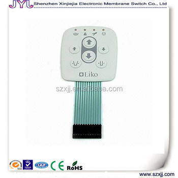 Up Down Membrane Switch With Leds And Conductor - Buy Switch Panel ...
