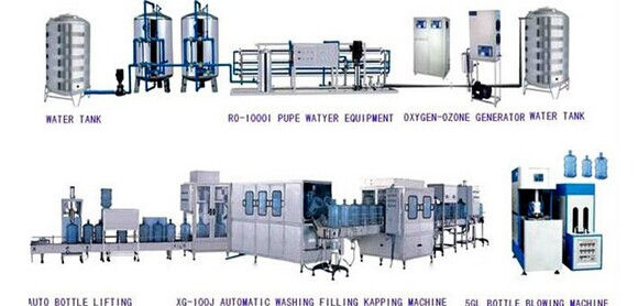 Bottled Water Factory Uf Water Purification System/u.f. Water ...
