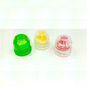 28/38mm plastic flip top cap with silicone valve for sport water bottle, flip top cap for 1881 1810 neck bottle