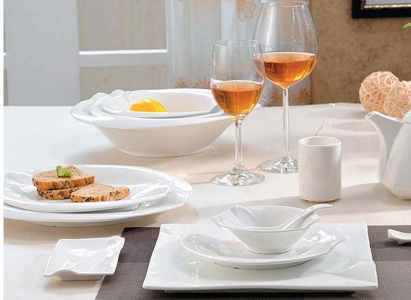 Wholesale Hotel Restaurant Used Ceramic Porcelain Soup / Dessert ...