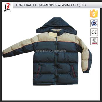 74f6d982 Marca de fábrica invadido stock de ropa para hombres chaqueta acolchada de  la ropa LBH-