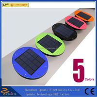 IP 65 smart solar led light fixture outdoor wall light fixture 7 led waterproof