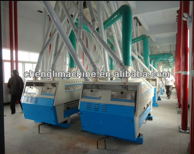 150 tons/24 hours Automatic Wheat Four Milling Machinery