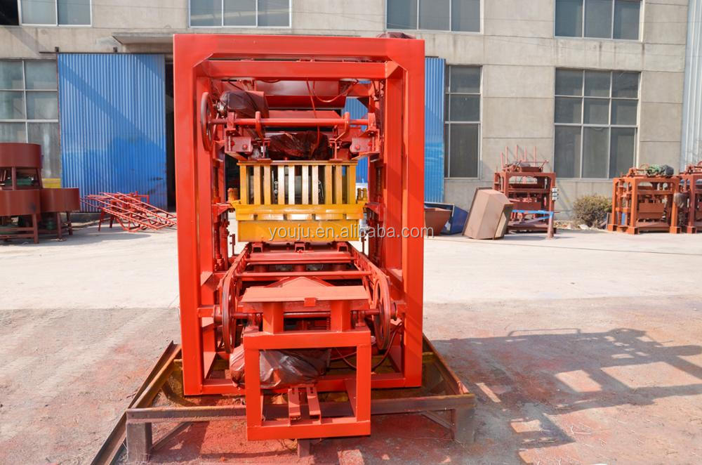 QTJ4-26 price list of concrete block making machine
