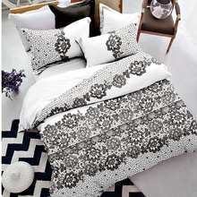 New brand 2018 bedsheets bedding set with good price