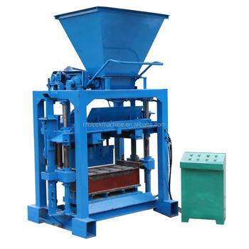 Small Scale Home Business Housing Hollow Block Machine Qt4-35 Concrete  Cement Block Production Line - Buy Block Machine,Small Business Low  Investment