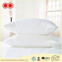 Luxury Hypoallergenic 100% 0.7D Polyester Microfiber Filled Bed Pillow For Hotel