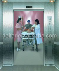 Hospital bed lift size