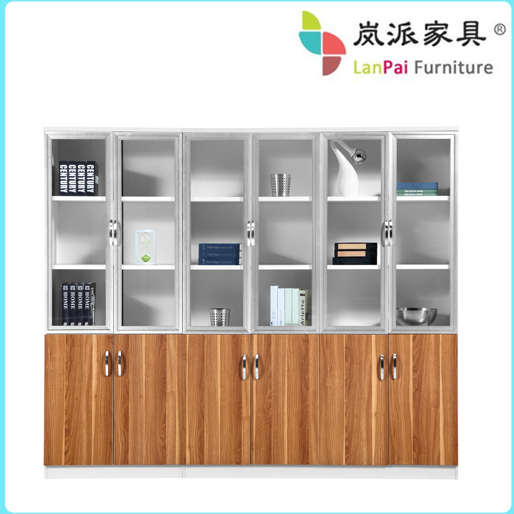 Solid Wood Office Cabinet/modular Office Filing Cabinet Bookcase ...