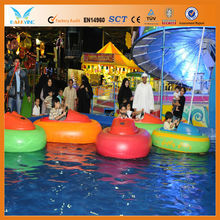 Inflatable Pool Floating wate toys, bumper boats for kids, Manufacturer Wholesale for amsement water park