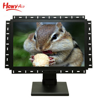 "High Brightness 17"" Led Panel Monitor Open Frame Lcd Monitor With Professional Stand For Desktop"