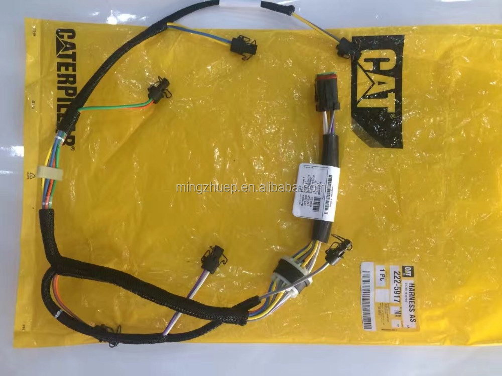 222 5917 C7 Fuel Injector Wire Harness For Cat Excavator