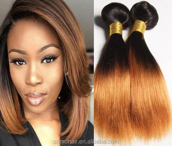 Peruvian Hair Weave 1b 4 27 Honey Blonde Ombre Straight Extensions