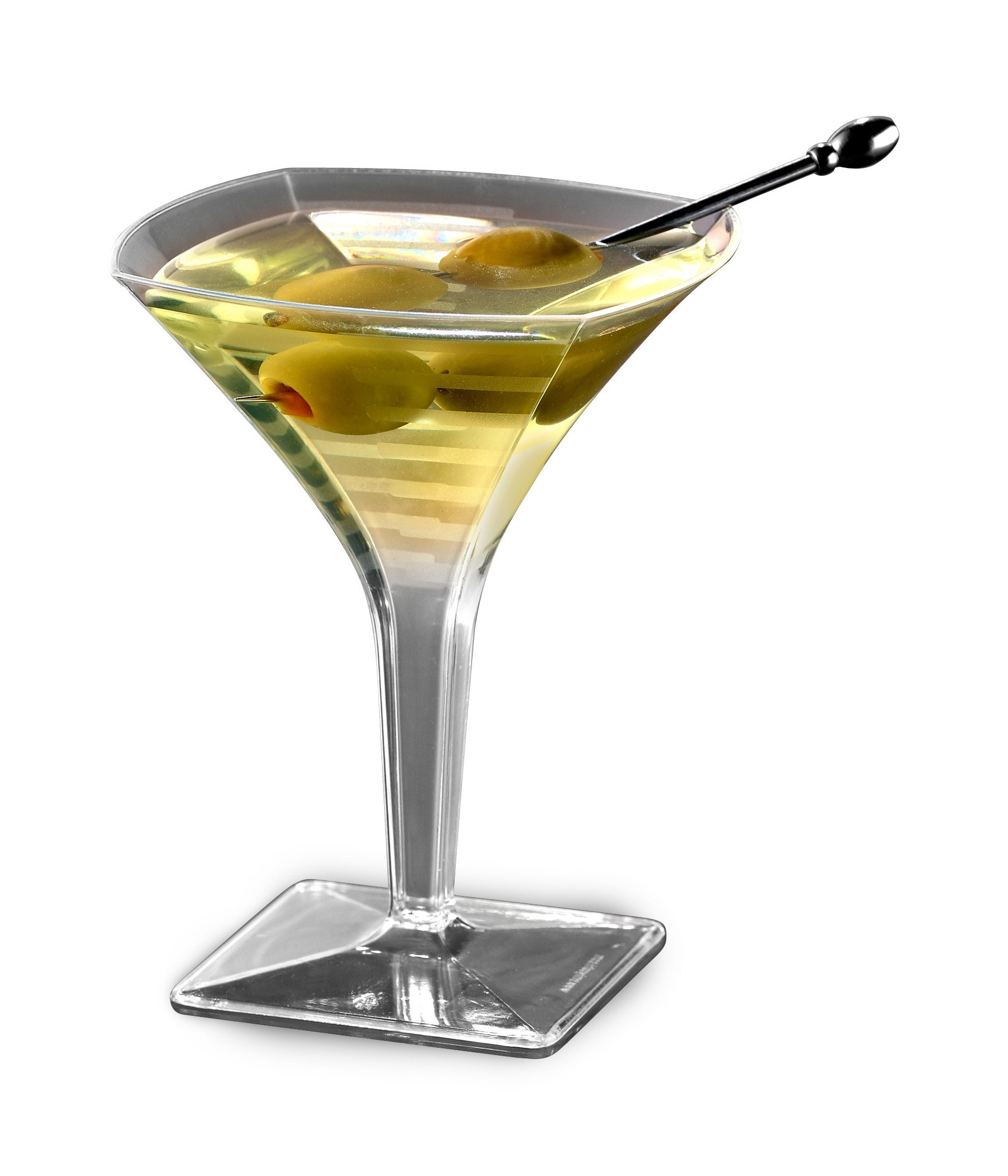 Squares Mini Martini Glass, 2oz, 96 Glasses