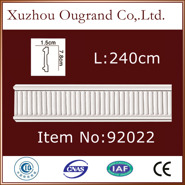 pu aluminum gypsum cornice molds for house decor