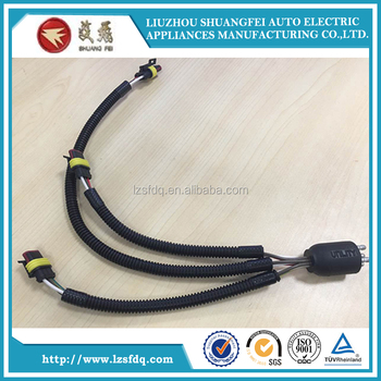 Auto Wire Harness Used for Car Engine, View Wire Harness, SHUANGFEI