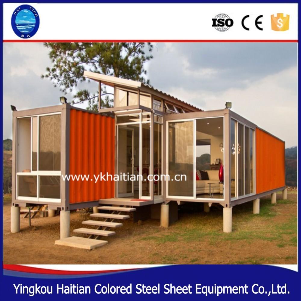 Moderno barato casas modulares prefabricadas un dormitorio mobile casas casas de contenedores - Casas prefabricadas de contenedores ...