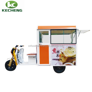 Lovely small utility mobile fast food tricycle