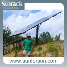 Solar PV Panel Mounts Solar Pole Mounts Ground Mounting Structure