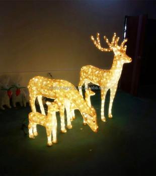 led christmas reindeer outdoor