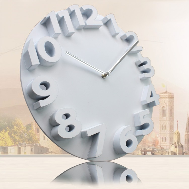 12 numbers wall clock