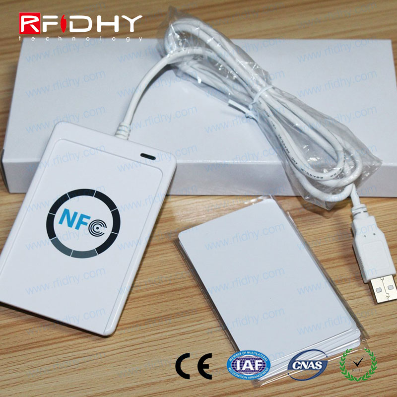 100mA USB Device Hot Sale Smart HF 13.56MHz NFC Reader