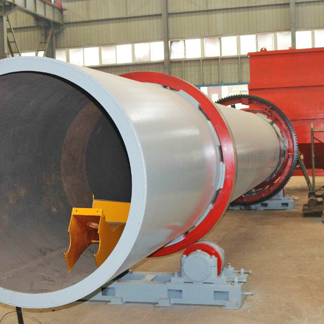 2017 News Energy Saving Gypsum calcining rotary kiln