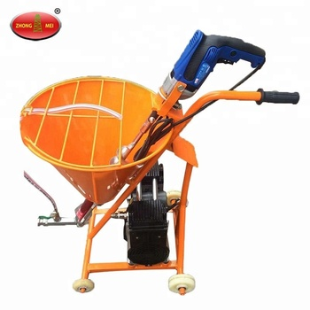 Automatic Cement Wall Putty Spray Paint Machine Buy Wall Spray Paint Machine Concrete Spray Machines Mortar Spray Machine Product On Alibaba Com