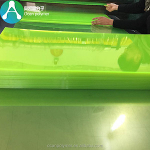 High quality color rigid PVC plastic sheet for printing Transmitters Labels