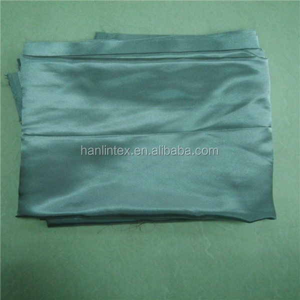 two tone satin fabric/brushed back satin fabric/100% polyester satin fabric
