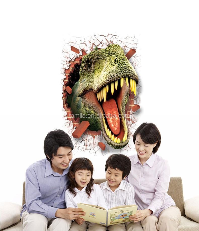 2016 Nieuwe Mode Verwijderbare Creatieve Dinosaurus Cartoon 3d ...
