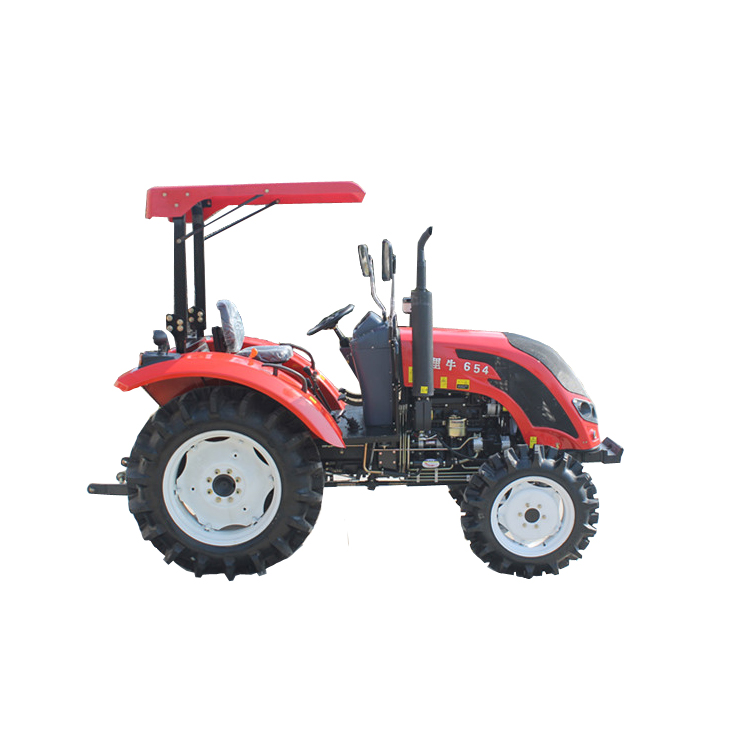 Good quality low price 65hp farm tractor for sale with CE certificate