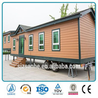 China small house plans designs/mobile office trailer/kit log homes