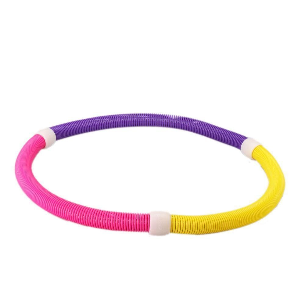 Kissemoji Soft Spring Magnetic Hula Hoop Slimming Thin Waist Fitness Equipment