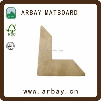 2.0mm Thickness Cream Core Photo Frame Paper Mount Boards For Home ...