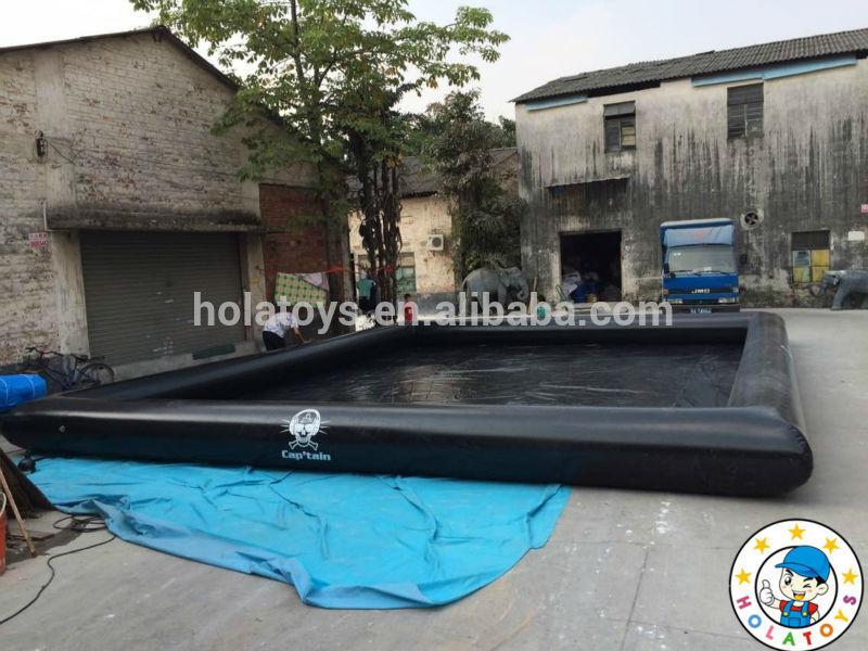 Noire piscines gonflables/piscine gonflable pour la vente
