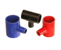 T piece silicone radiator hose for automobile