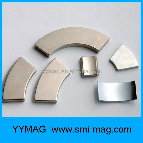 Customized Arc Neodymium Magnet Segment Permanent Magnet Generator ...