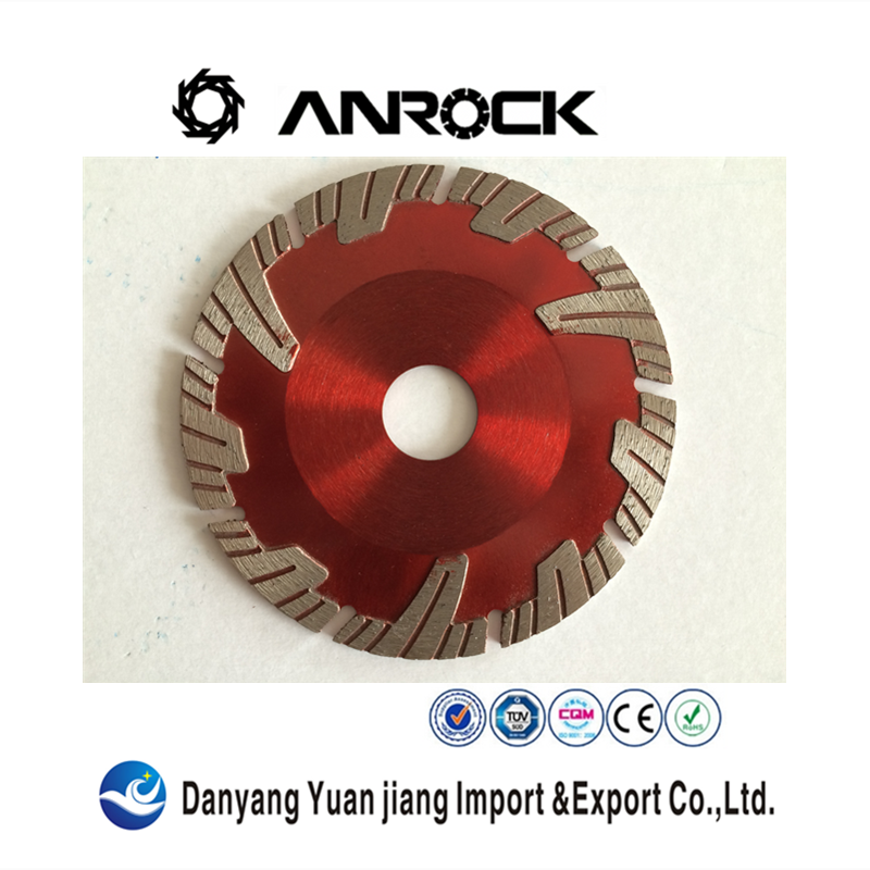 115mm Turbo wave diamond saw blade for hand cutting machine