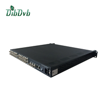 cable tv equipment 8 in 1 mpeg-2/h.264 asi to ip video streaming hardware