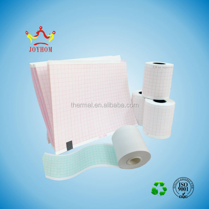 Hot wholesale cheap&smooth 183*30m ecg recording paper