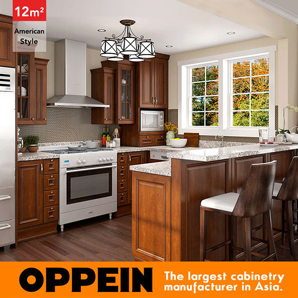 Kitchen Cabinets with Granite Countertops Made in China