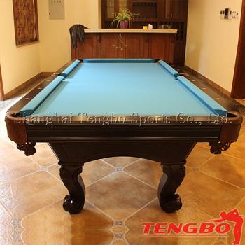 Tb International Standard Size Ash Ball Pool Table Sales Buy Ash - Real pool table size