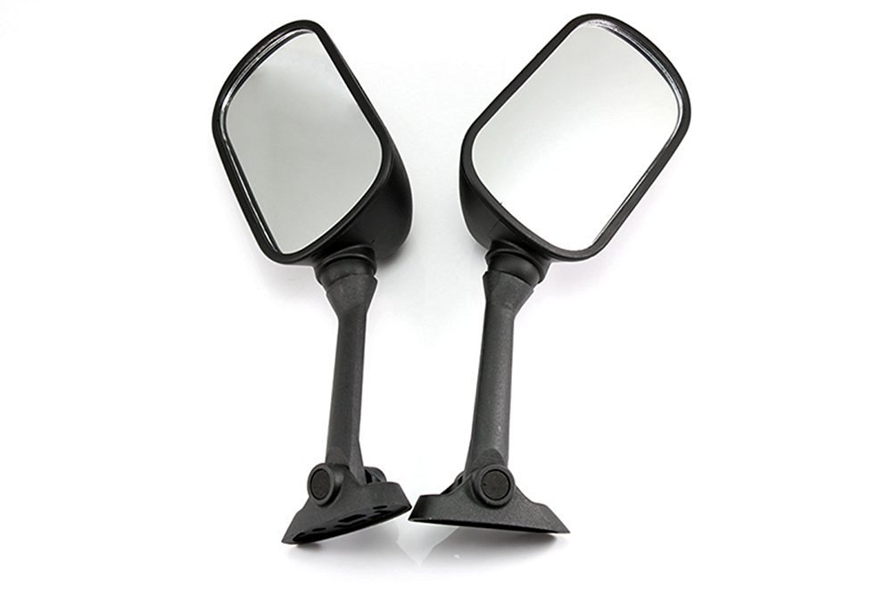 NEVERLAND Rear View Side Mirrors for Suzuki SV650S SV1000S/GSXR 1000 K3 K5 2003-2006 Black