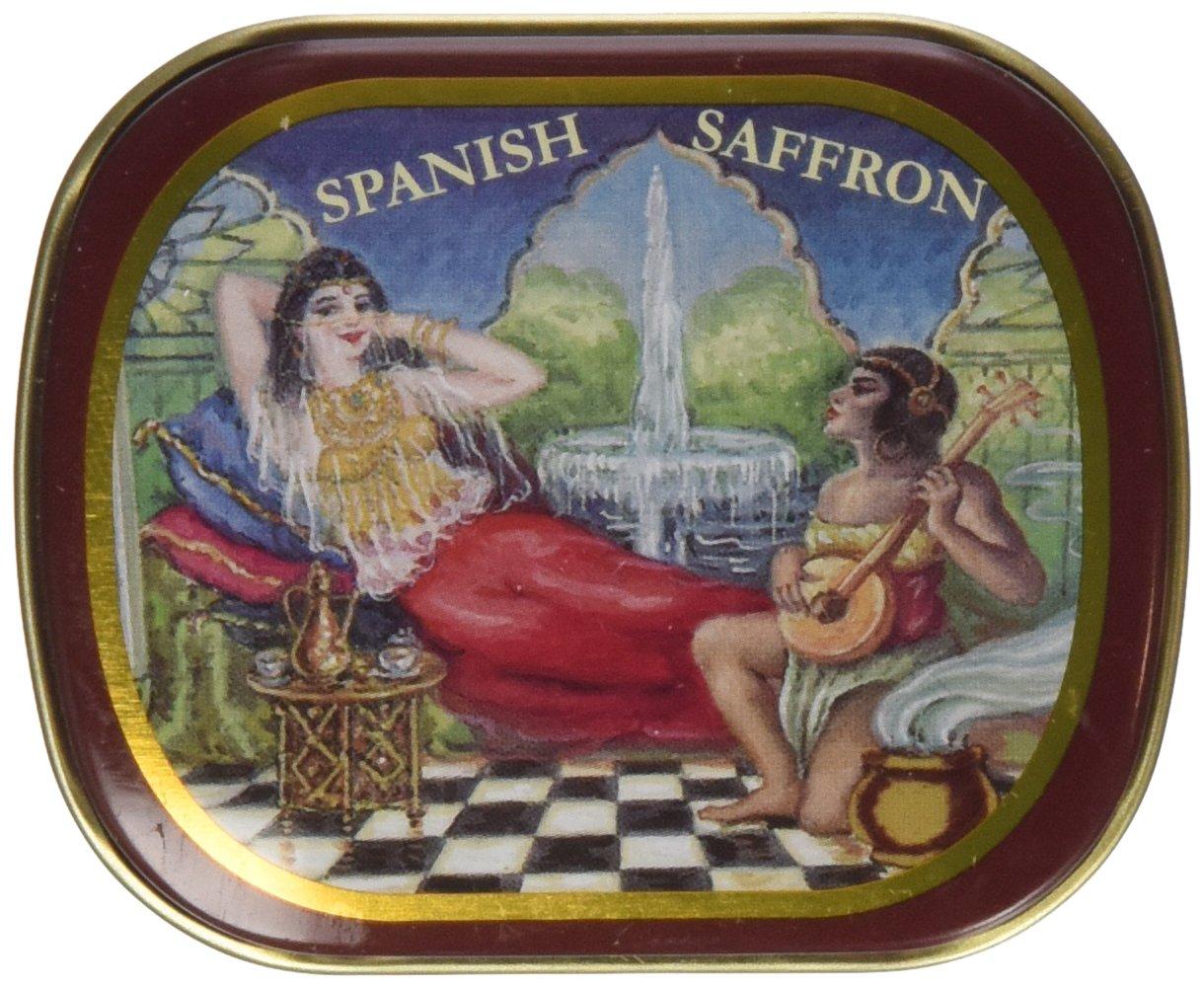 Spanish Saffron Tin 1 Gram by Alma Gourmet
