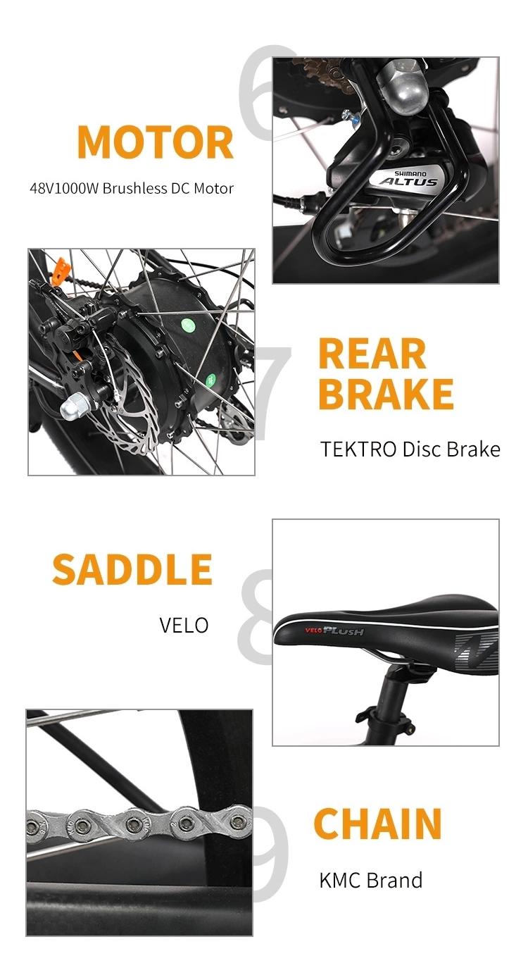 2019 큰 힘 Fat tire 산 전기 자전거 factory directly \ % sale new design fat tire 전기 자전거 산