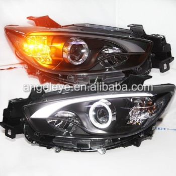 2012 2014 tahun untuk mazda cx 5 led strip headlamp dengan. Black Bedroom Furniture Sets. Home Design Ideas